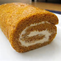Bear N Mom Recipes  - Pumpkin Cake Roll