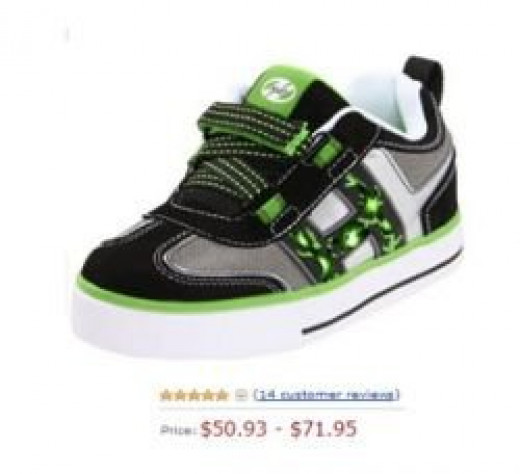 cool velcro sneakers for boys