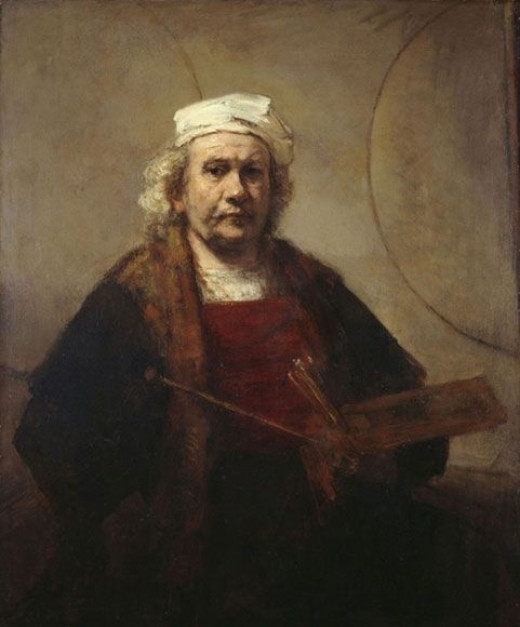 Rembrandt van Rijn : Very superstitious, writings on the wall.