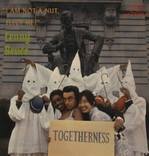 """I am Not a Nut, Elect Me Togetherness 1959 Fantasy Records 7007 12"""" LP Record"""