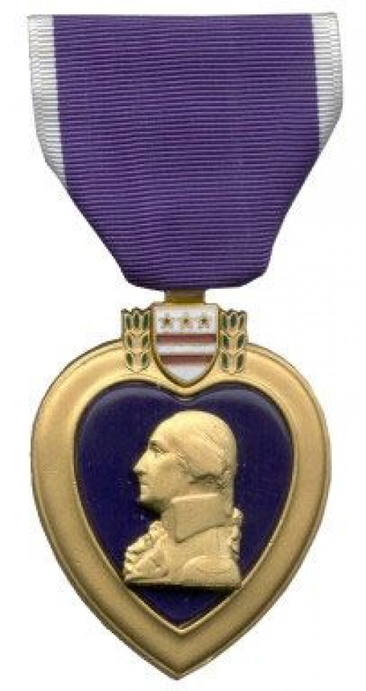 purple heart for U.S. soldiers