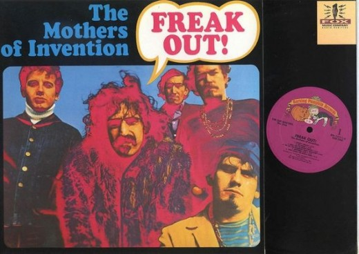 "Mothers Of Invention ""Freak Out"" Barking Pumpkin Records BPR 7777 The Old Masters Box One 12""  Vinyl Record Albums"