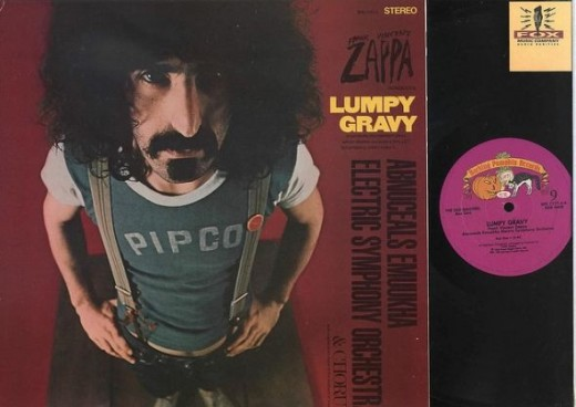 "Frank Zappa Mothers of Invention Lumpy Gravy Barking Pumpkin Records BPR 7777 The Old Masters Box One 12"" Vinyl Record Albums"