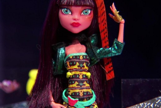 monster high freaky fusion cleolie doll