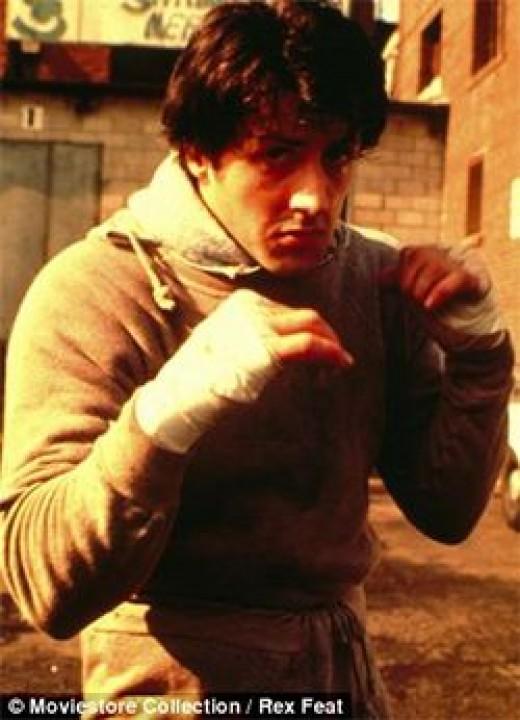 Rocky Bilbao, the real sport hoodie hero of the 1976