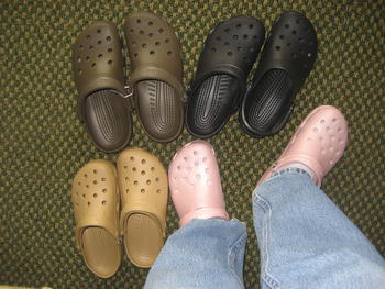 Yes! 4 New Pair of Crocs!