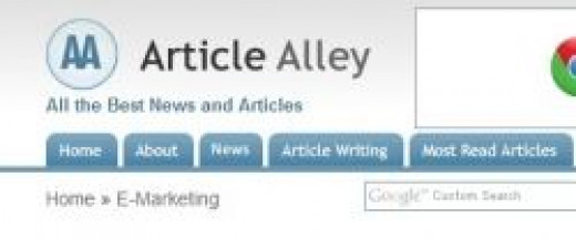 You Can Submit Your Article To Article Alley via This Article Submission Service  Service