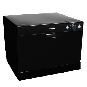 Koldfront Portable Countertop Dishwasher Model PDW60EB - Purchase HERE at Amazon!