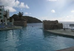The Infinity Pool at Oyster Bay Beach Resort