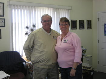 Ray and Christine Keasler - Managers at the Surfside Beach Strand Mini Storage Center