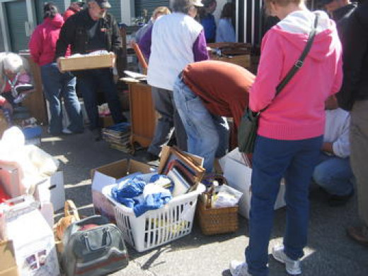 Mini Storage Unit Auctions and The STUFF!