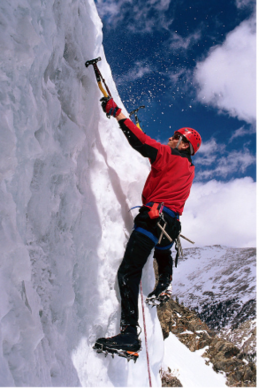 Ice Climbing is COLD
