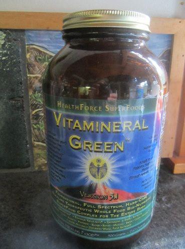 My jar of Vitamineral Greens