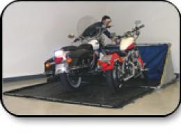Double CycleShelter Motorcycle Shelter