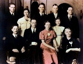 The family in 1935