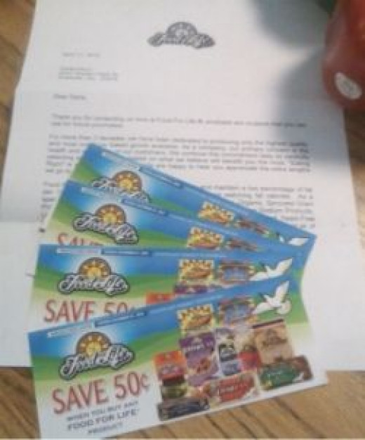 Coupons for Food For Life Products including Ezekiel bread