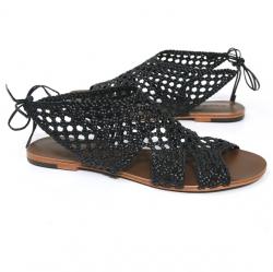 Dulce Mahi Sandal (Black)