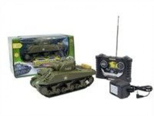 remote control sherman army tank rc