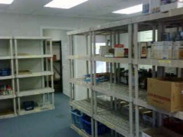 Empty shelves at the food bank prompted an emergency email donation request from the food bank director.