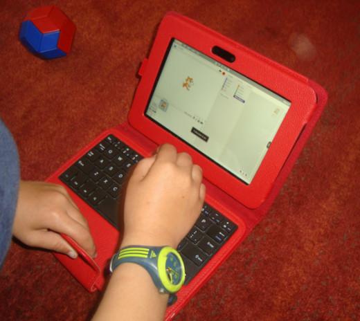 Kindle Fire HD Keyboard Case