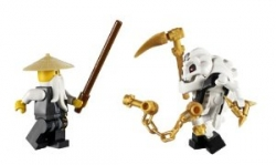 7 Ninjago Mini Figures