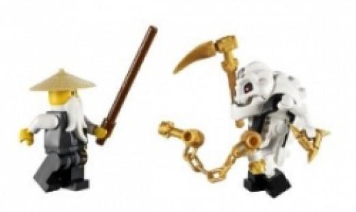 7 Ninjago Mini Figures