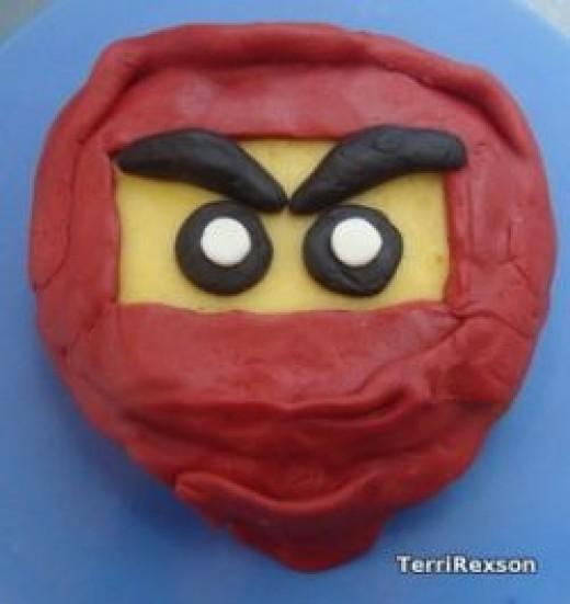 Ninjago Kai Cake