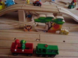Some of our starter set - Brio Safari