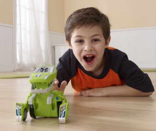 Sliver the T-Rex VTech Switch & Go Dinos