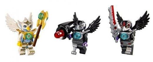 LEGO Chima Eris's Eagle Interceptor Minifigures