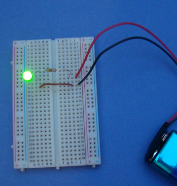 Look I did it! I'd forgotten how much fun it was to create an electronics circuit that does something.