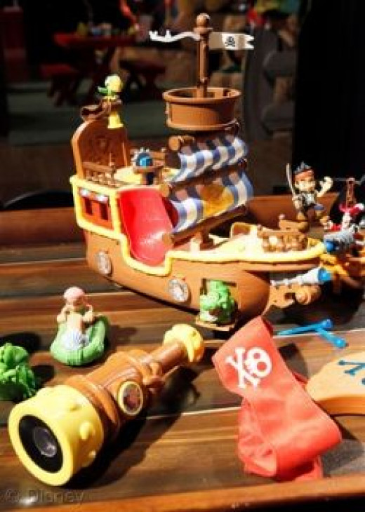 Jake and the Neverland Pirates Toys for 2012