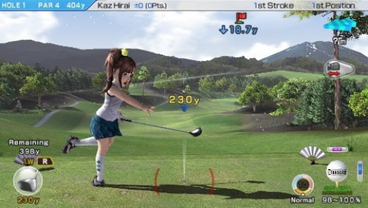Hot Shots Golf Game for PS Vita