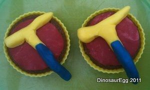 Rock Pick Cupcakes