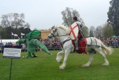 St George and the Dragon at Wrest Park