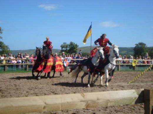 Roman Riding Race