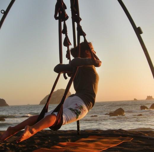 Omni Swing for Fun at the Beach