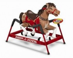 Radio Flyer Liberty Spring Horse - Why Not Let Your Kids Have A Ride Everyday?