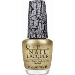 Gold Shatter Nail Polish