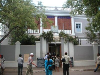 Ashram in Pondicherry