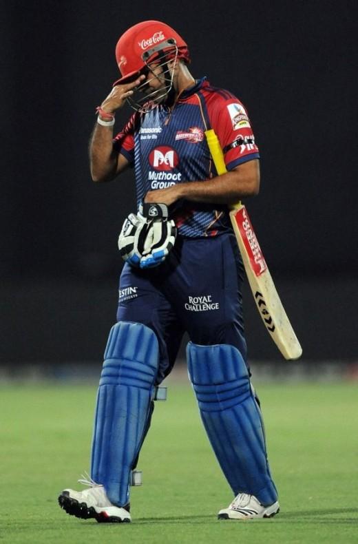Virender Sehwag is oot of IPL  2011