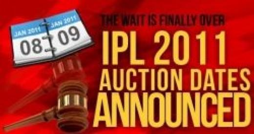 IPL Auction Date