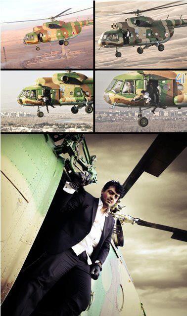Ajith performs mind-blowing stunts in Billa 2