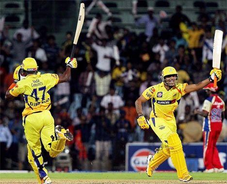 Chennai Super Kings chase down 206 vs Royal Challengers Bangalore