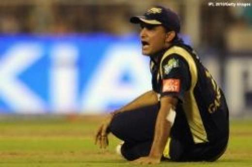 Team Kochi keen to sign Sourav Ganguly