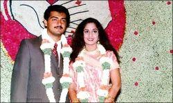 Ajith and Shalini Wedding