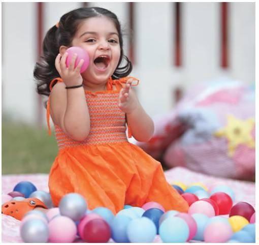 Cute Anoushka Ajith Kumar