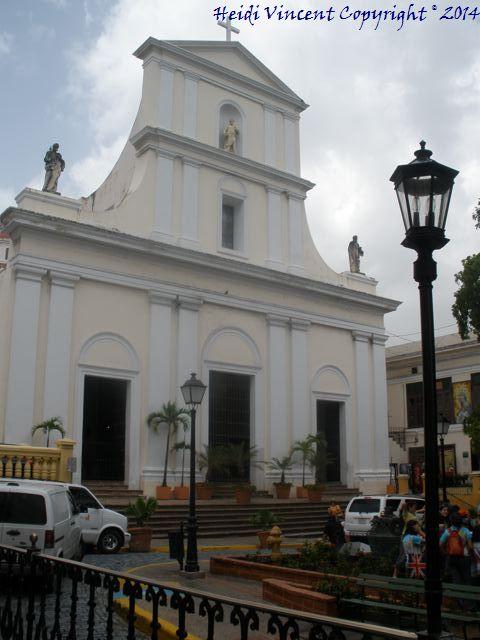 Catedral de Juan Bautista - Old San Juan - Puerto Rico