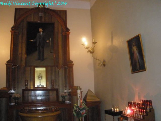 Inside Catedral de San Juan Bautista - Old San Juan Puerto Rico - Photo 2  (Shrine of Blessed Carlos Manuel Rodriguez)