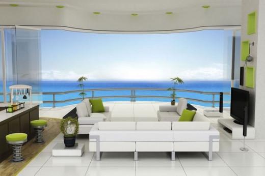 paradise resort interior design